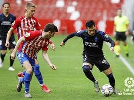 El Sporting remontó a la Ponfe. LaLiga