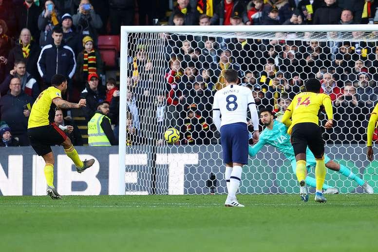 Watford foi superior ao Tottenham. Twitter/SpursOfficial
