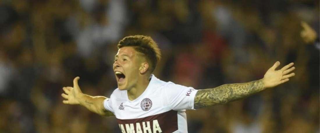Lodico anotó el gol tras pasar solo cinco minutos en el campo. Lanus