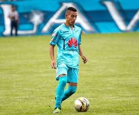 Sirino metió uno de los goles del encuentro. ClubBolívarOficial