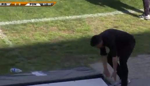 Gattuso ha sido sancionado tres partidos por su último percance. GirmaSport-Youtube