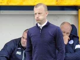 Gavin Skelton, ex entrenador del Queen of the South Football Club. AFP