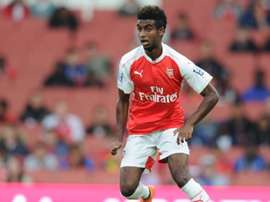 Zelalem in action for Arsenal. Arsenal