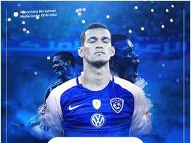 El nuevo contrato vinculará al jugador durante dos temporadas. AlHilalSaudiClub