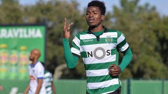 El angoleño tiene contrato con el Sporting de Portugal hasta 2022. Twitter