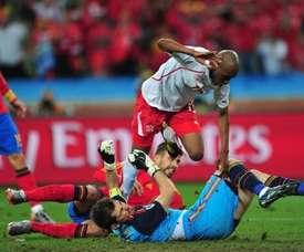 Un gol que toda España recuerda. AFP