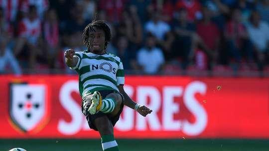 El Sporting venció por la mínima al Paços de Ferreira. Twitter/SCP