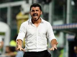 Benevento e Milan empataram em 2-2. Twitter