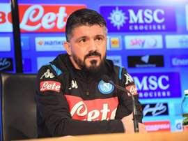 Gattuso est devenu le nouvel entraîneur de Naples. Twitter/SSCNapoli