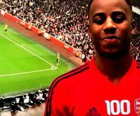 O Arsenal contrata a promessa norueguesa George Lewis. Captura/Youtube