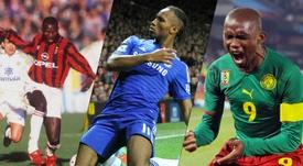 Les 10 meilleurs joueurs africains de l'histoire. AFP