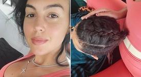 Georgina gave Ronaldo a new look. Instagram/georginagio