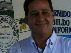 Marín fue asesinado a tiros en su negocio, en Honduras. EFE