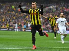 Napoli are interested in signing Deulofeu. Twitter/Watford FC