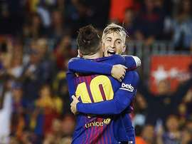 Deulofeu prefers to think to the future. EFE