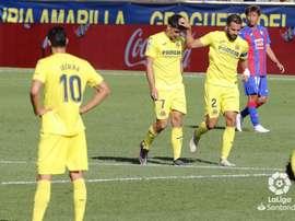 El Villarreal remontó ante el Eibar. LaLiga