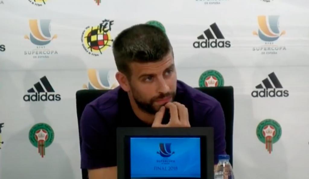 Piqué quitte la sélection — Espagne