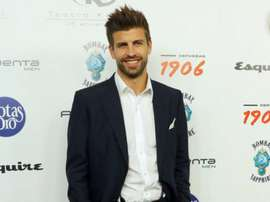 Pique made comments on Neymar and Messi after receiving a prize. EFE