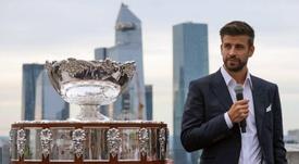 Piqué invita il rivale madridista Ramos alla Coppa Davis. AFP