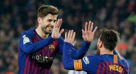Pique plays his 500th official game for Barca! md