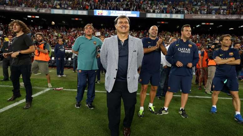 El asado del 'Tata' que acabó en la Liga que levantó el Atleti en 2014. FCBarcelona