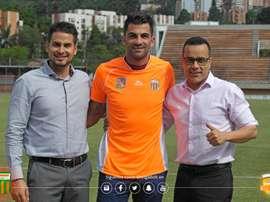 El delantero proviene de la Tercera División Española. EnvigadoFC