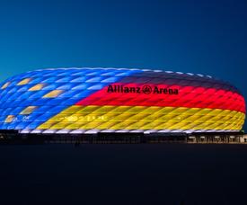 Bayern Munich's Allianz Arena. Twitter/FCBayern