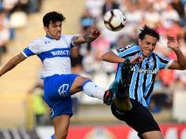 Grêmio ocupa a última posição no Grupo H. . Twitter @LibertadoresBR