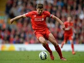 Bobby Duncan recogerá el testigo de su primo Steven Gerrard. AFP