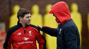 Gerrard has praised Jurgen Klopp's impact on his managerial career. TWITTER