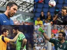 Buffon agrandó su leyenda. EFE/AFP