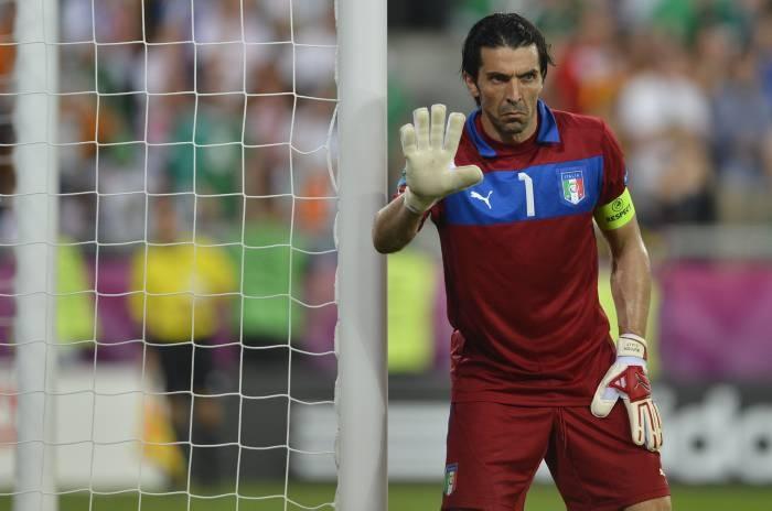 Buffon habló de su debut con el Parma y con Italia. EFE