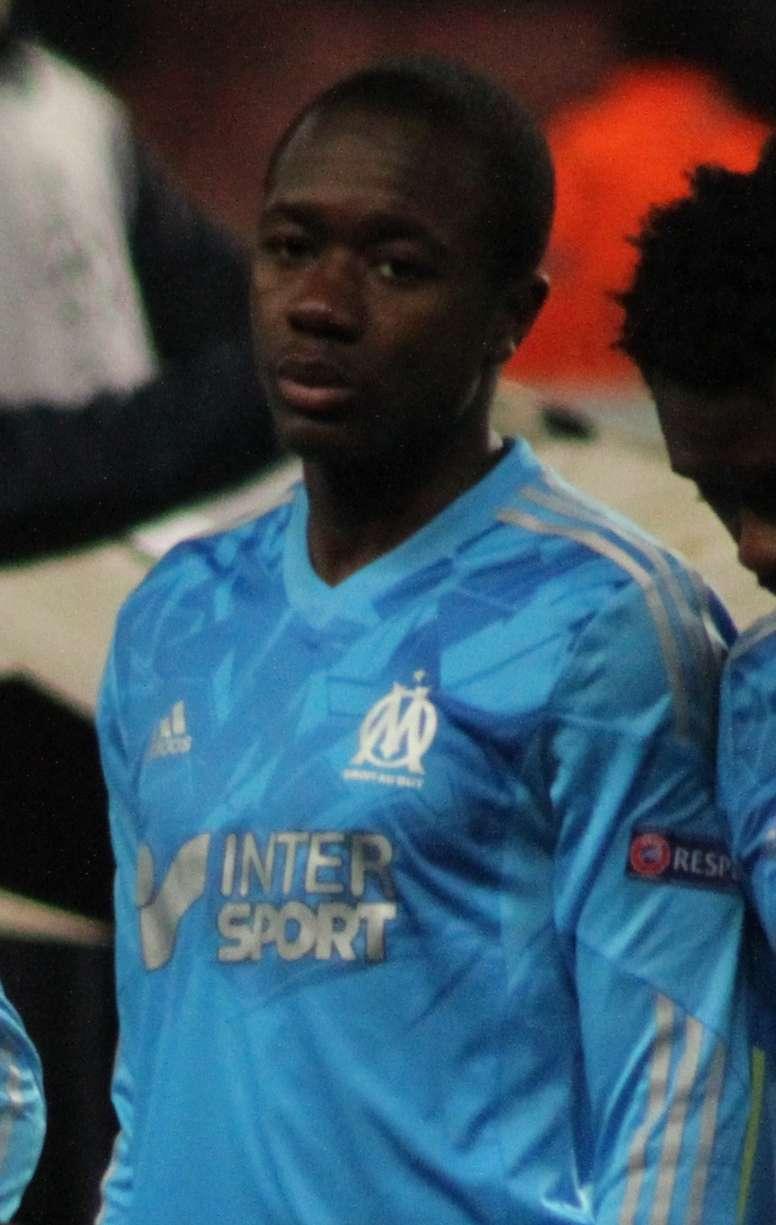 Giannelli Imbula, jugador del Olympique de Marsella. Ronnie Macdonald