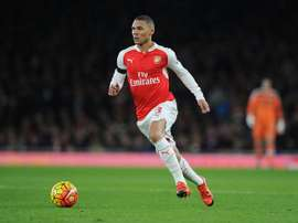 Kieran Gibbs has struggled to break into the starting XI at Arsenal. Twitter