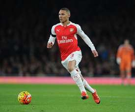 Gibbs could be on his way to West Brom. Twitter