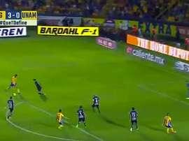 Gignac a inscrit un beau 50e but contre Pumas. TelevisaDeportes