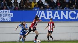 El Athletic frena al Dépor en 14 segundos. Twitter/AthleticClub