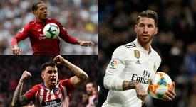 Qui pour remplacer Sergio Ramos ? Montage/EFE/AFP