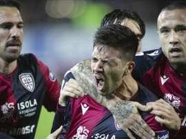 SImeone's son is interest in a move to his father's team. CagliariCalcio