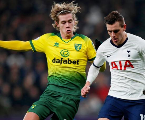 Norwich réclame 22 millions d'euros pour Cantwell. Spurs_ES
