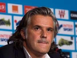 Giovanni Ciccolunghi, nouveau président de l'Olympique de Marseille. Sudouest