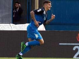 Naples aurait fait une offre pour Di Lorenzo. EFE
