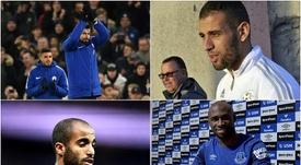 Giroud, Slimani, Lucas and Mangala. BeSoccer