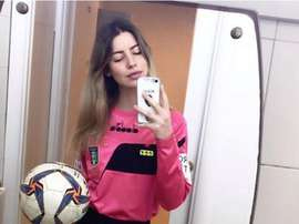 Giulia Nicastro was abused after giving a red card. Instagram/Nicastro.giulia