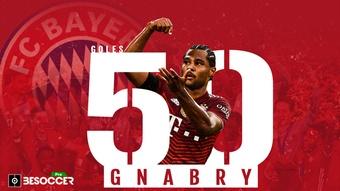 Gnabry,  el talismán del Bayern, a un gol de los 50