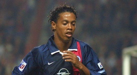 Ronaldinho is one of the biggest stars to play for the French side. AFP