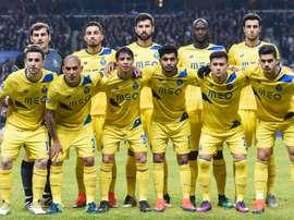 L'équipe de Porto en Ligue des Champions. GOAL