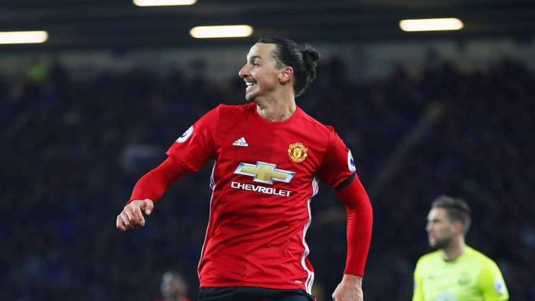 Zlatan Ibrahimovic is already 35 years old. Goal