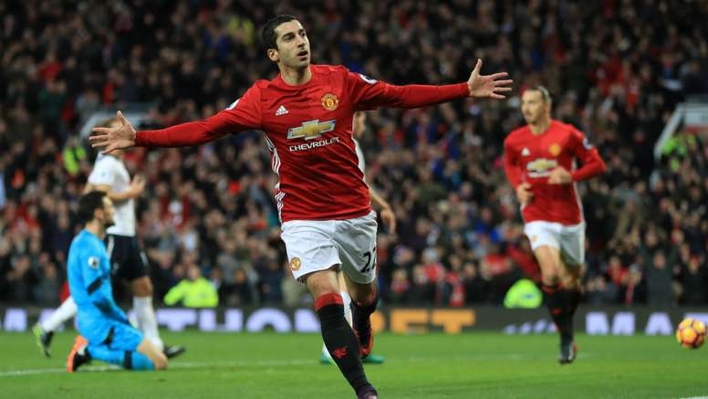 Henrik Mkhitaryan scored the only goal in a 1-0 victory over Spurs. Goal