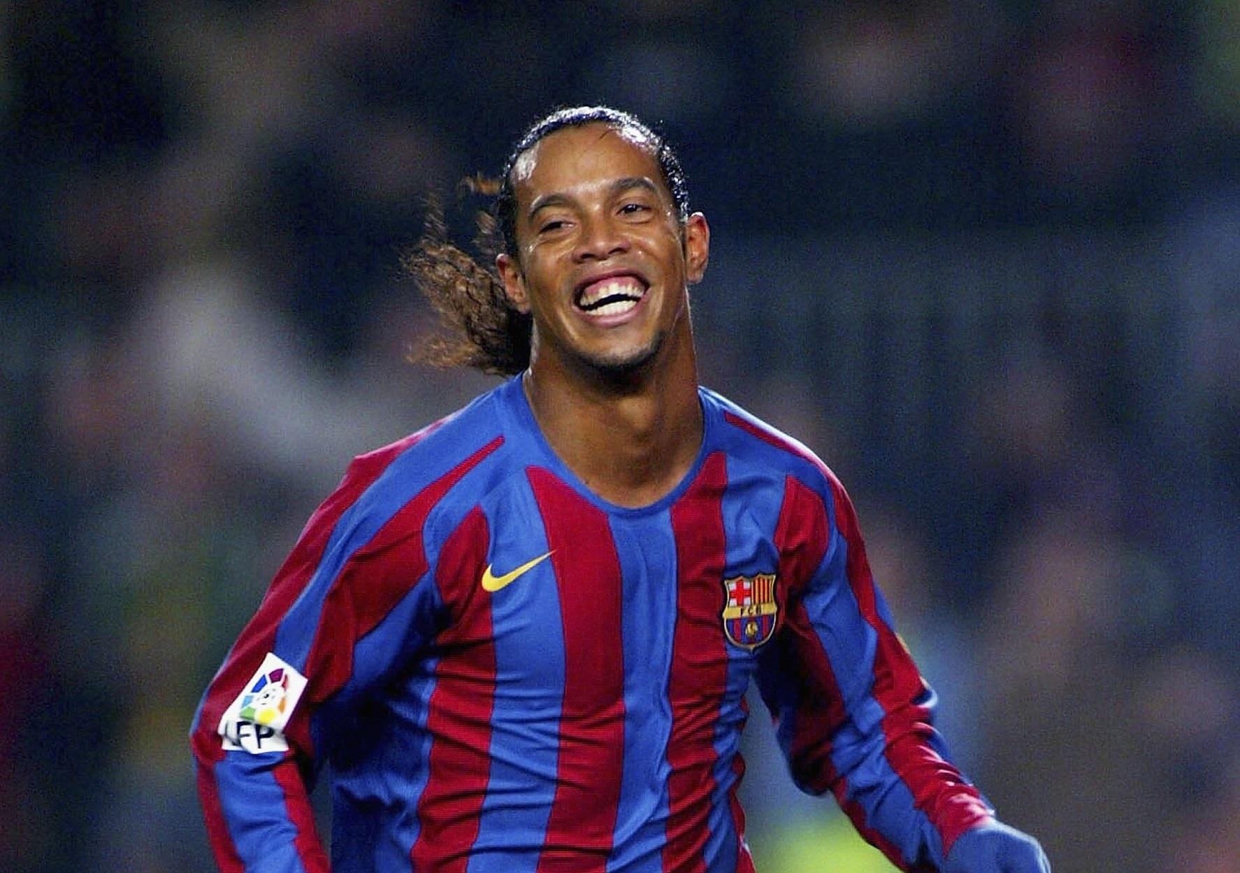Camisa Barcelona Ronaldinho Gaúcho 2006